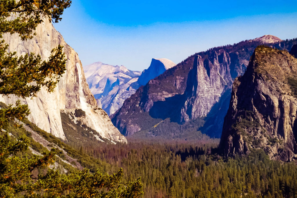 Yosemite National Park, California, Half Dome