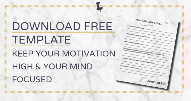 Your Motivation Chart: Why are you doing this?