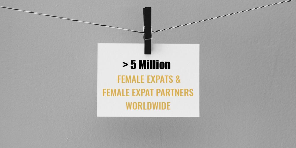 expat statistics, expat wife, expat partner