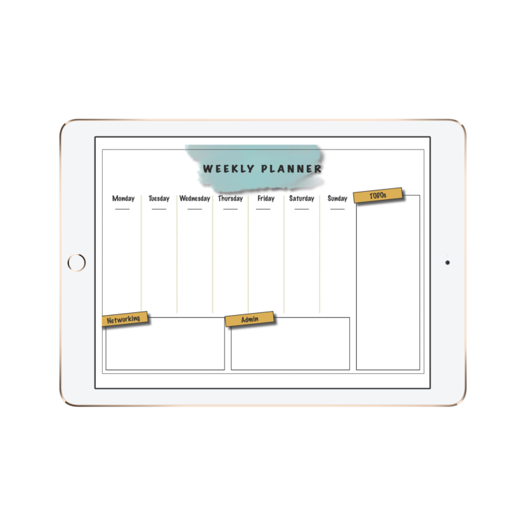 weekly planner, free download, sharethelove