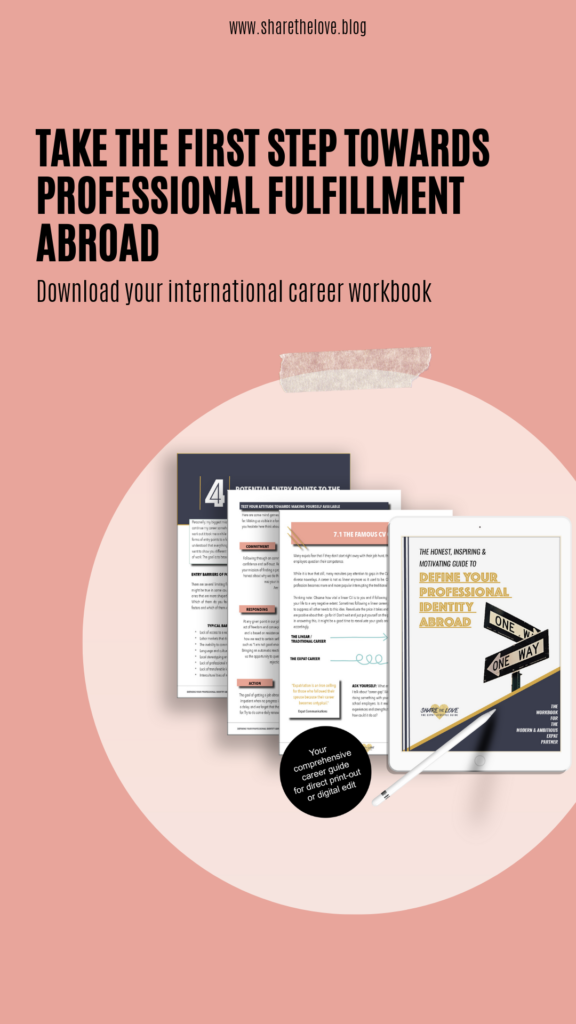 workbook, career, expat
