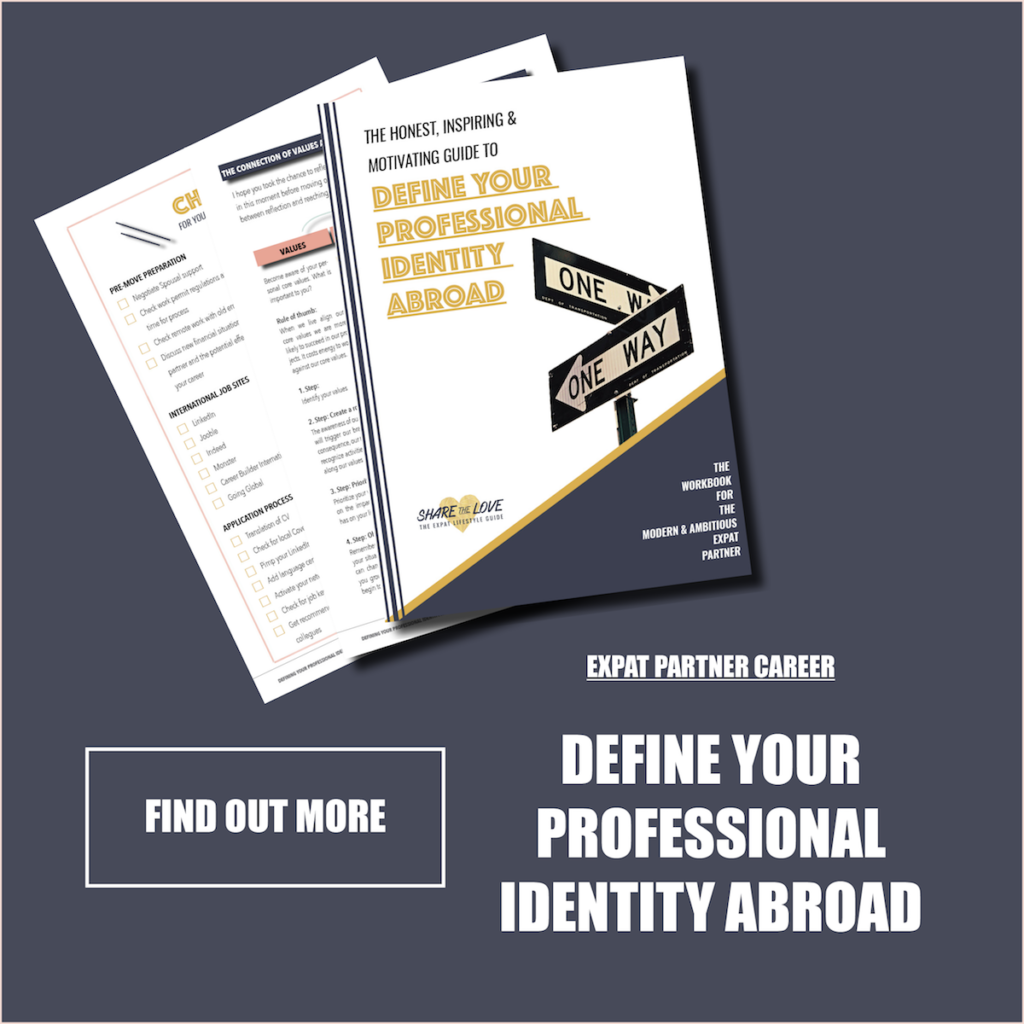 workbook, expat, expatpartner, expat career