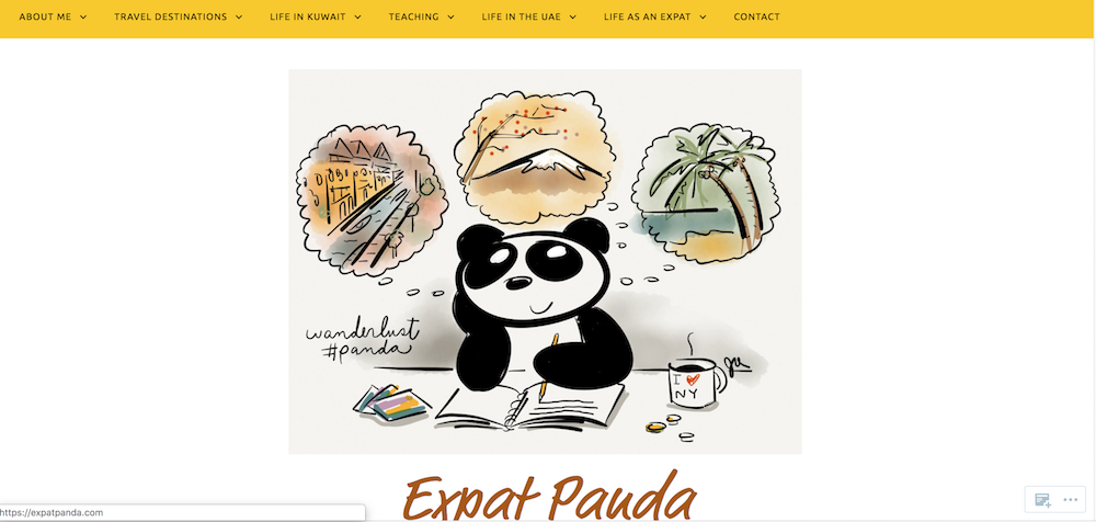 expatpanda, blogging, blogger, expat, sharethelove, screen