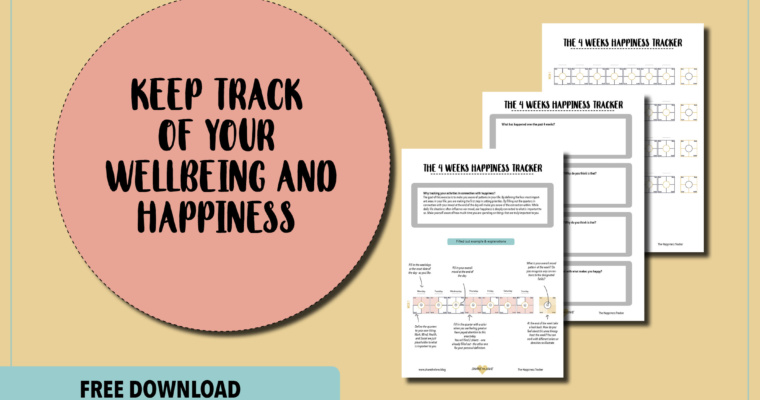 The 4-weeks Happiness Tracker