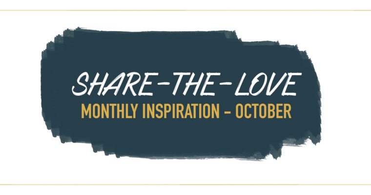 MONTHLY INSPIRATION: OCTOBER
