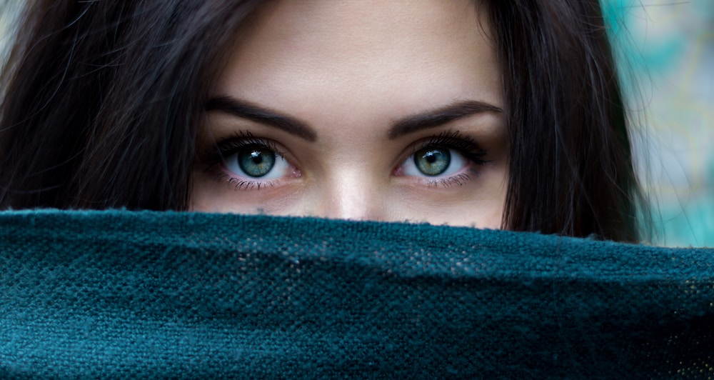 eyes, intent, woman