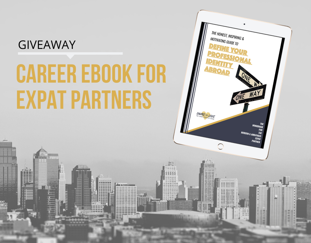 expat, career planning, expat partner, sharethelove, ebook