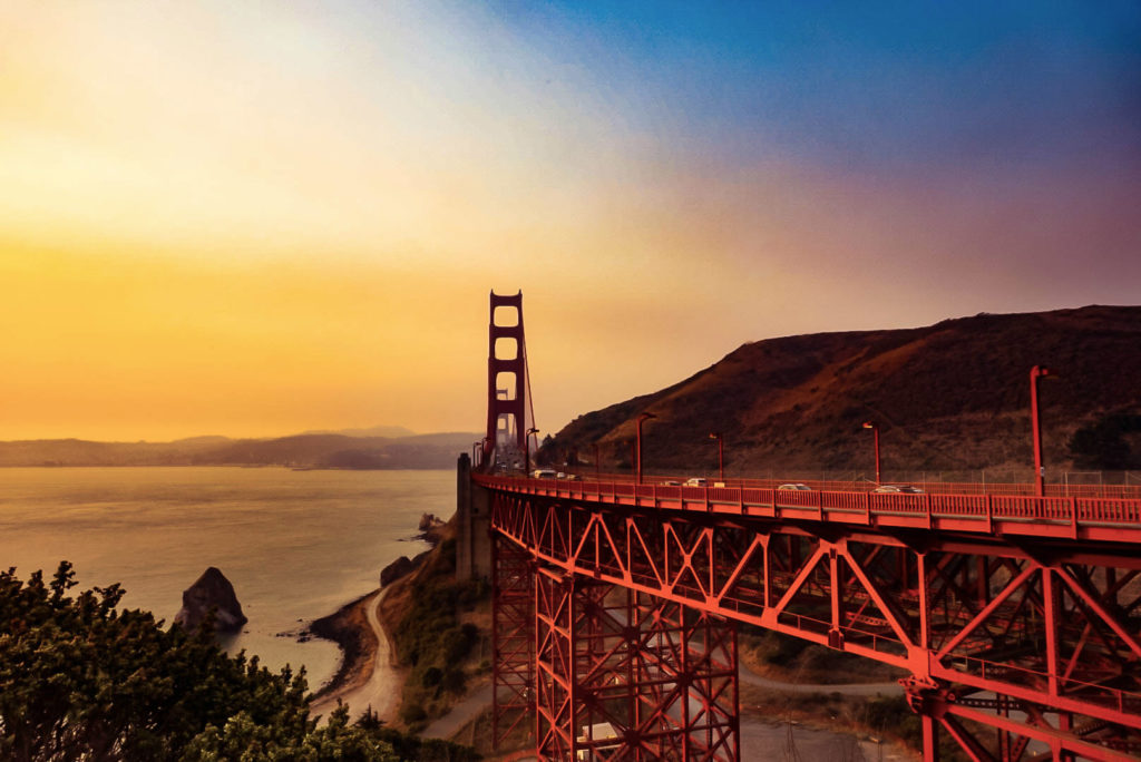Golden Gate Bridge, San Fransisco, California