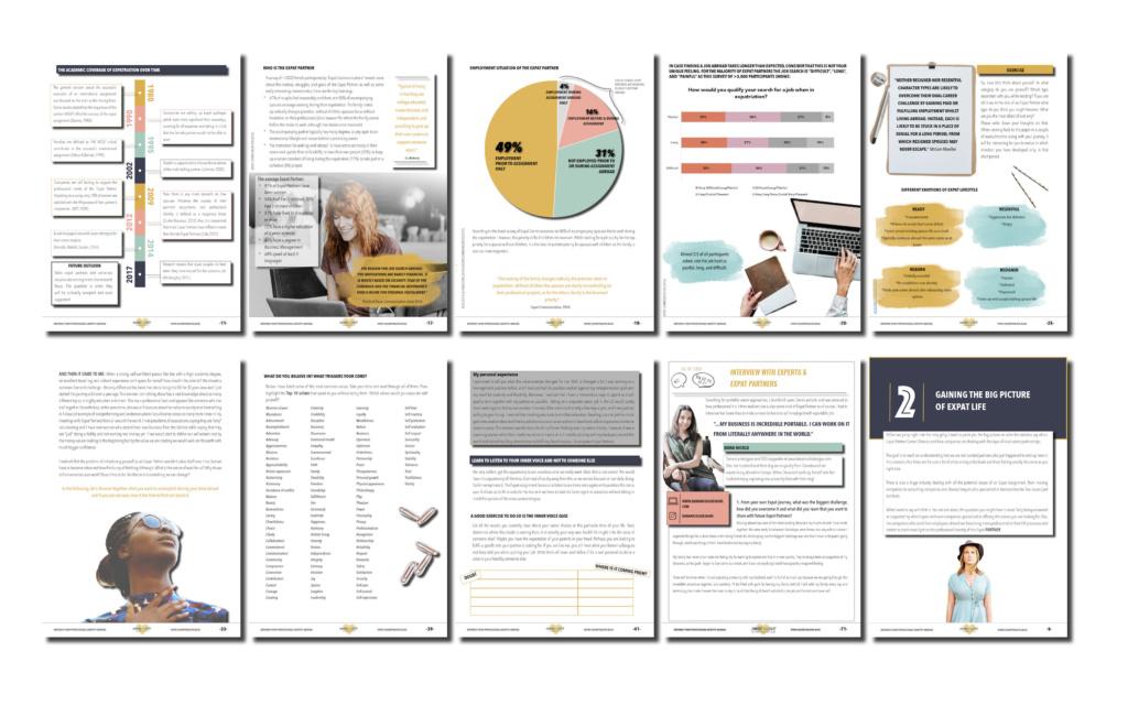 workbook, career guide, expat, expat partner, sharethelove