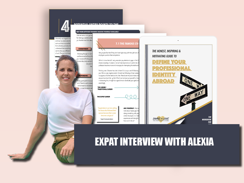 expat interview, alexia, sharethelove