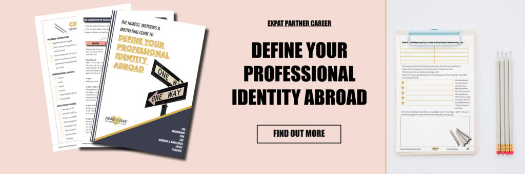 expat, expat partner, career, workbook, sharethelove, expatwife