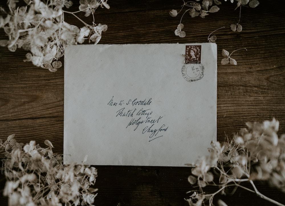 letter, expat, communication