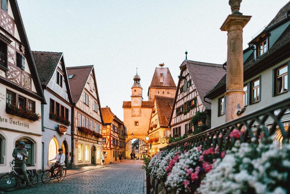 german city, culture, us