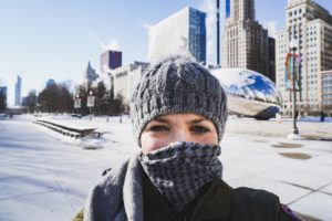 chicago, winter, low temperatures, city, travel guide