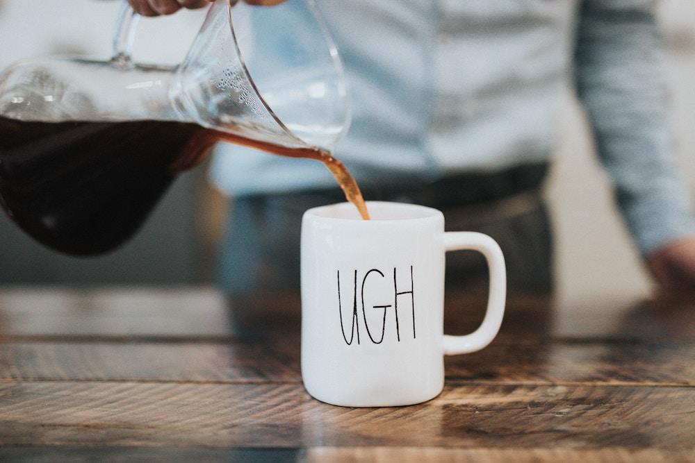 monday, coffee