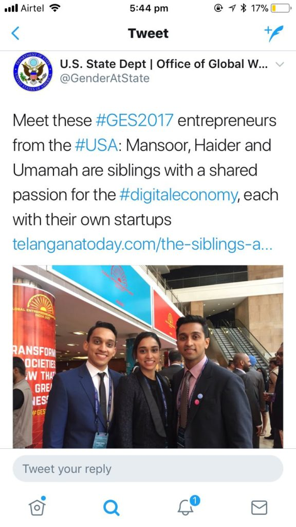 umamah, sharethelove, entrepreneur, iinterview, workingabroad, starting your own business