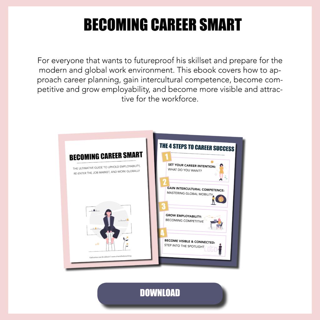 career smart, ebook, expat, expat wife, expat partner