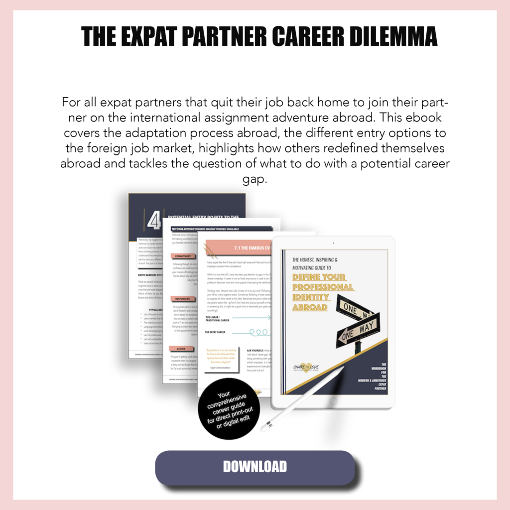 career smart, ebook, expat, expat wife, expat partner