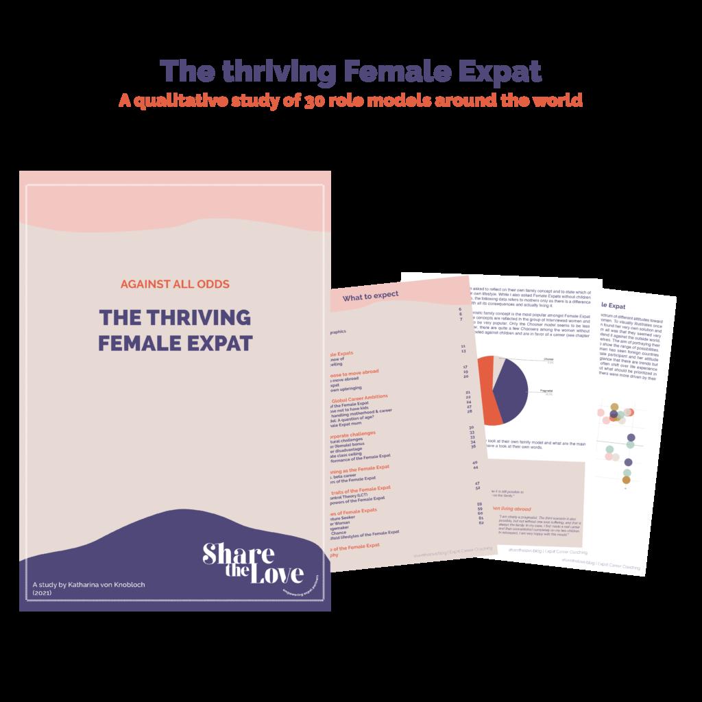 female expat study, female expat, sharethelove, expat coaching